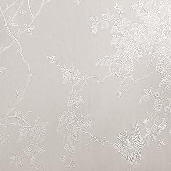 Super fresco Spring Blossom White Shimmer Wallpaper