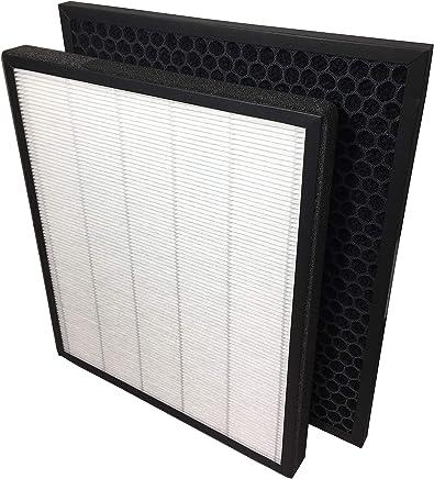 1/STK. se puede utilizar en lugar de fy3432//10 para el PHILIPS purificador de aire ac3256//10 Comedes filtro de carb/ón activo