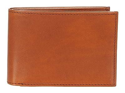 Bosca Small Bifold Wallet RFID (Saddle) Wallet Handbags