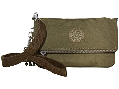 Kipling Lynne Convertible Crossbody Bag (Jaded Green) Handbags