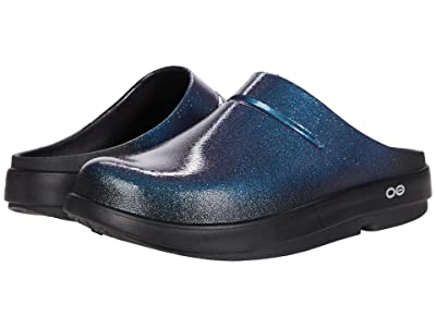 OOFOS OOcloog Luxe (Galaxy Blue) Shoes