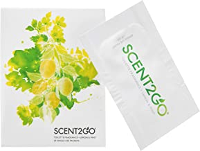 Scent2Go Toilette Fragrance Packets, Travel Size, Discreet Bathroom Odor Eliminator, Leak-Proof, Natural Essential Oils, L...
