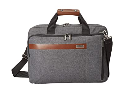 Briggs & Riley Kinzie Street Convertible Brief (Grey) Briefcase Bags