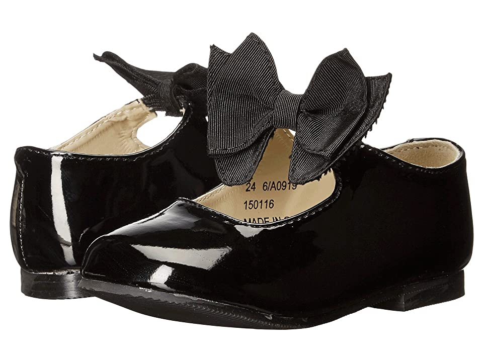 Amiana 6-A0919 (Toddler/Little Kid) (Black Patent PU) Girl