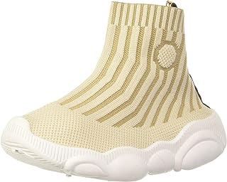 HOPPIPOLA Boy's Beige Sneakers