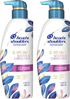 Sponsored Ad - Head & Shoulders Supreme, Scalp Care and Dandruff Treatment Shampoo, with Argan Oil and Rose Essence, Sooth...