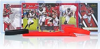 Julio Jones Football Cards Assorted (5) Bundle - Atlanta Falcons Trading Cards