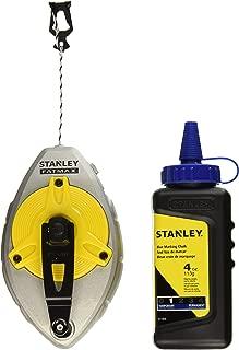Stanley 47-482L 100-Foot FatMax Xtreme Chalk Box with 4 oz. Blue Chalk