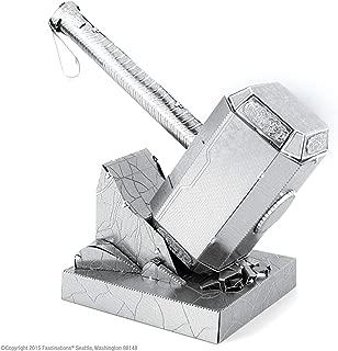 Fascinations Metal Earth Marvel Mjolnir Thor's Hammer 3D Metal Model Kit