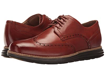 Cole Haan Original Grand Shortwing (Woodbury Leather/Java) Men