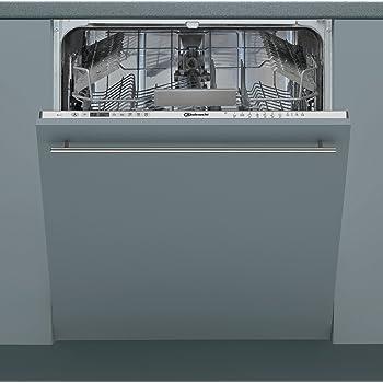 Bauknecht IBIO 3C34 Geschirrspüler Vollintegriert, A+++, 60 cm, 238 kWh/Jahr, 14 MGD, leise mit 42 dB, Extra Trocken, Option Multizone