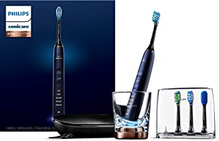 Philips Sonicare DiamondClean Smart 9750 Rechargeable Electric Toothbrush, HX9954/56 Lunar Blue