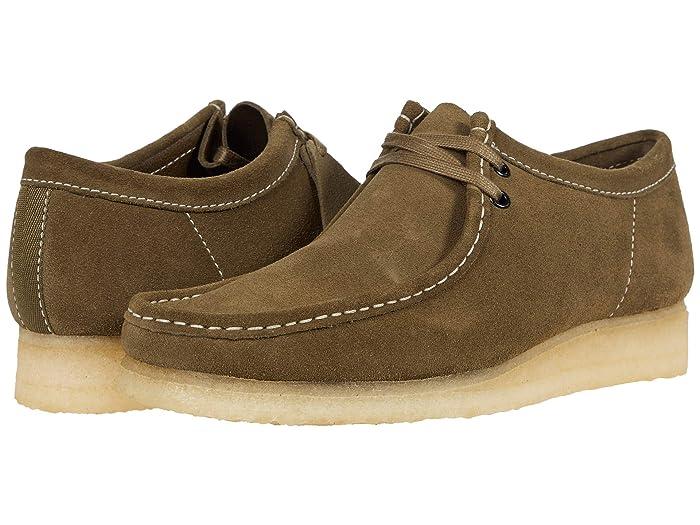 1960s Men's Clothing Clarks Wallabee Khaki Mens  Shoes $89.99 AT vintagedancer.com
