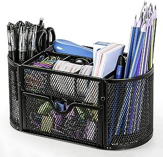 لوازم المكتب المكتبية الشبكية لتنظيم المكتب من ستاثم - حامل أقلام متعددة الوظائف للمكتب، والمنزل، والمدرسة، والفصول الدراس...