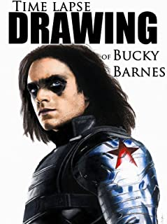 Clip: Time Lapse Drawing of Bucky Barnes