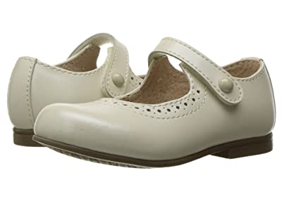 FootMates Emma (Toddler/Little Kid) (Bone Pearlized) Girls Shoes