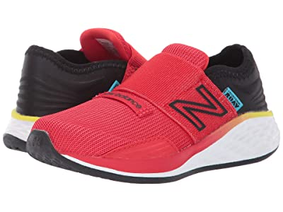 New Balance Kids Fresh Foam Roav Boundaries Hook and Loop (Infant/Toddler) (Velocity Red/Black) Boys Shoes