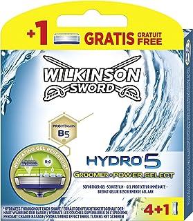 Wilkinson Sword Hydro 5 Groomer/Power Select ostrza do golenia dla mężczyzn 4 + 1 szt
