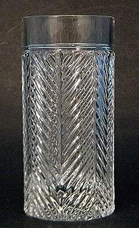 Lauren Ralph Lauren 13.5 oz Herringbone Highball Glass
