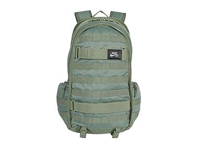 Nike SB RPM Backpack (Spiral Sage/Spiral Sage/White) Backpack Bags
