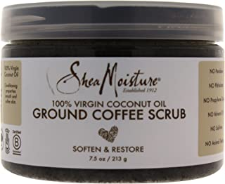 Shea Moisture 100% Virgin Coconut Oil Coffee Scrub, 7.5 Ounce