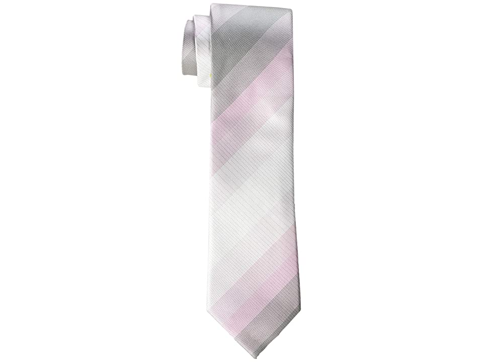 Kenneth Cole Reaction Brandon Plaid (Pink) Ties