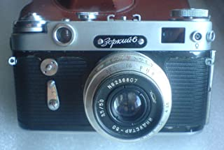 Zorki 6 USSR Soviet Union Russian rangefinder camera with Industar 50 50mm f/3.5