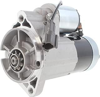 New Starter for Nissan Frontier SC,SE,SVE, XE Nissan Xterra SE & XE 3.3L Engines 1999, 2000, 2001, 2002, 2003, 2004 M0T60187ZC 23300-4S100 23300-4S102 23300-4S102R 4N6791 244-6791 91-27-3268N 17738N