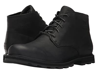 SOREL Madson Chukka Waterproof (Black) Men