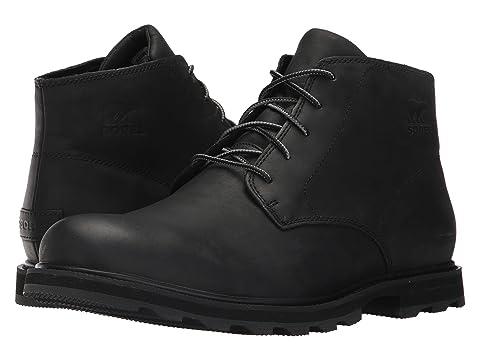 SOREL Madson Chukka Waterproof Black 8896304  S3CCN4KBC