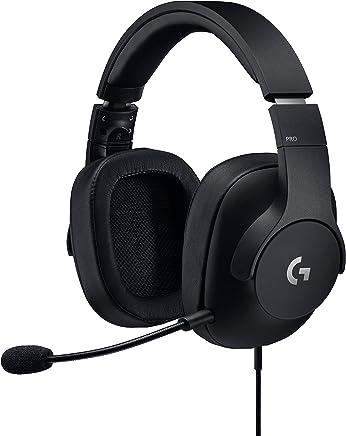 Logitech Auriculares Diadema con Micrófono para Gaming Pro, Color Negro