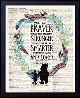Best framed pooh quotes Reviews