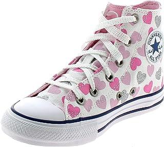Converse CTAS Hi Chaussures DE Sport pour Fille Blanc 668019C