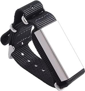Slightly Robot Hand-Tracking Bracelet for Breaking - Black Nylon - Model 2