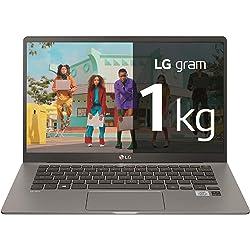 LG gram -  portátil ultraligero de 14 FullHD IPS (Intel Core i7-1065G7, 16GB RAM, 512GB SSD)