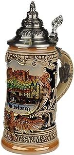 Beer stein by King - Heidelberg City Skyline Relief German Beer Stein 0.4l Limited Edition
