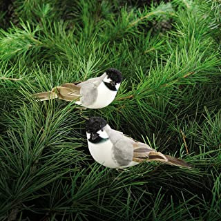 Chickadee Clip Ornament, Assorted of 2