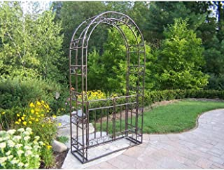 aluminum arbor with gate