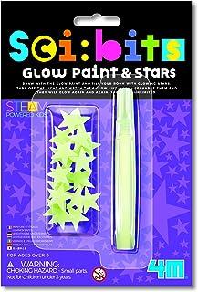 4M 403319 Sci: Bits Glow Paint, Multi Colour