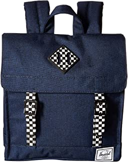 Medieval Blue Crosshatch/Checkerboard