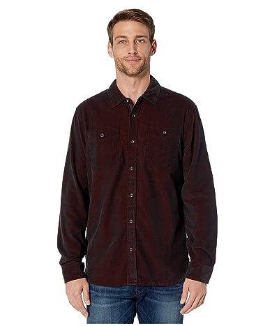 Prana Dooley Long Sleeve Shirt (Maple) Men