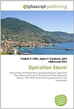 Operation Storm: Croatian War of Independence, Bosanska Posavina, Operation Flash, Operation Summer '95, Operation Tiger, Operation Mistral, 1995 NATO bombing campaign in Bosnia and Herzegovina