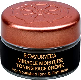 BIOAYURVEDA Miracle Moisture Toning Face Cream with Red Madder and Saffron Oil (0.7 oz)