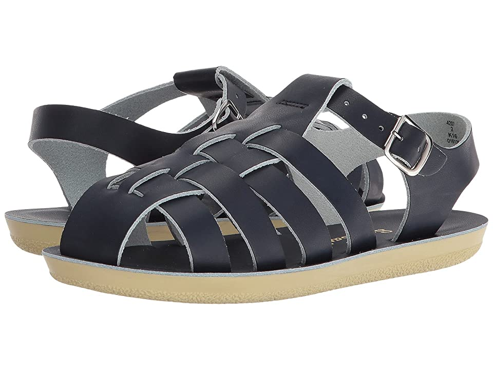 Salt Water Sandal by Hoy Shoes Sun-San Sailors (Toddler/Little Kid) (Navy) Kids Shoes