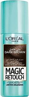 L'Oreal Paris Magic Retouch Instant Root Concealer, Dark Brown, 75 ml