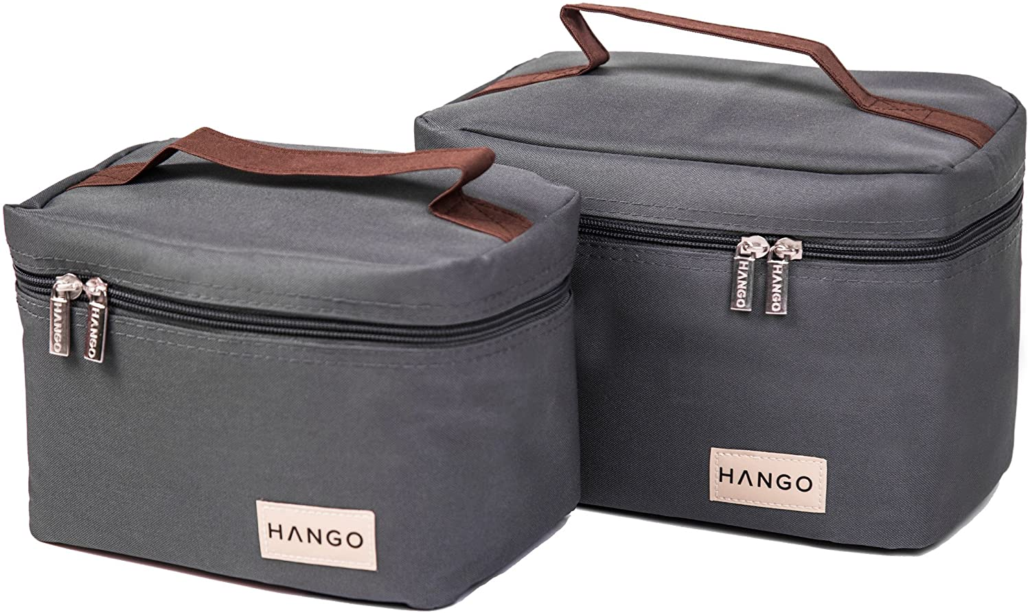 New arrival HANGO Insulated Lunch Bag Set of Max 59% OFF 2 Women For E Men Sizes -