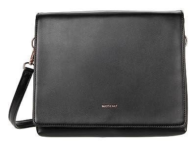 Matt & Nat Dover Loom (Black/Rose Gold) Shoulder Handbags