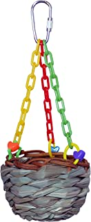 SUPERBIRD Super Bird Hanging Treat Basket, Small Birds, 17.7 X 7.6Cm, 17.7x7.6cm