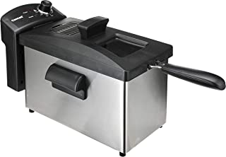 Cornell Deep Fryer with Basket, 3.5L Oil Capacity,CDFS3503 White/Black