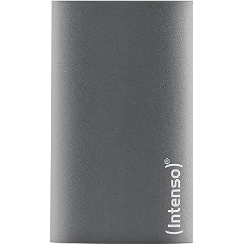 Intenso Premium Edition Portable 256GB Externe SSD Festplatte (USB 3.0. Aluminium) anthrazit